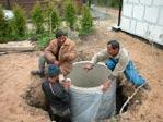Водопровод на даче - водоснабжение.