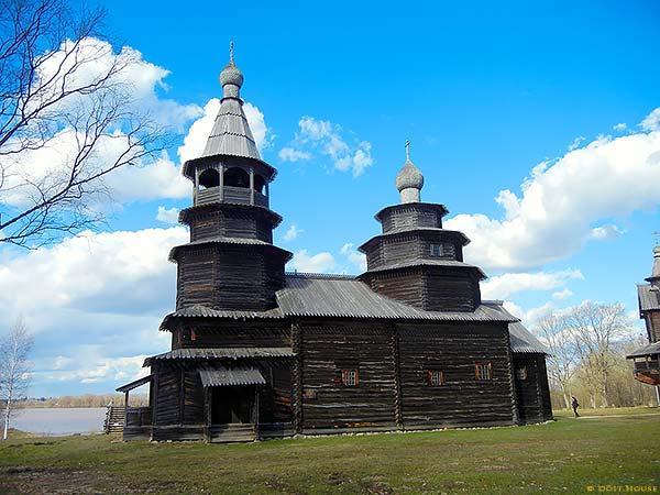 старинные деревянные церкви