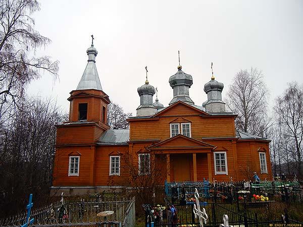 деревянная церковь сяберо