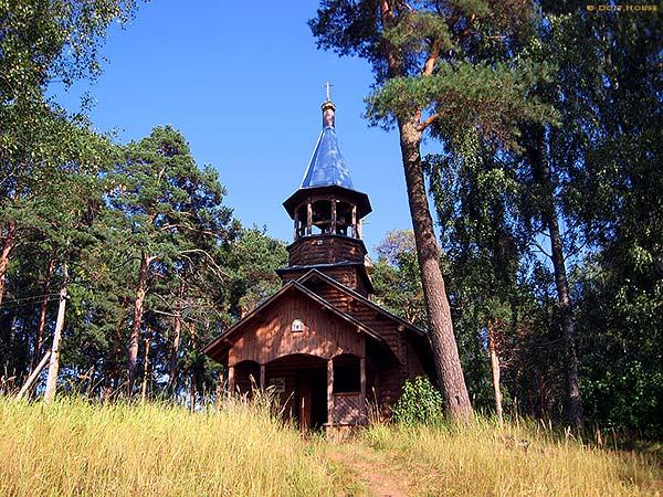 новая деревянная церковь