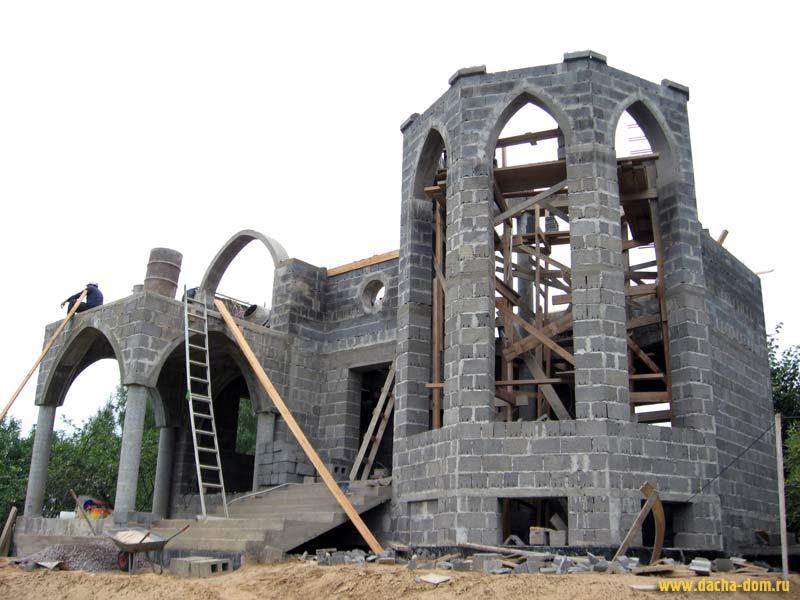 Крепость своими руками из бетона 33